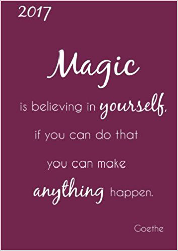 "Cover ""Magic is believing in yourself"""
